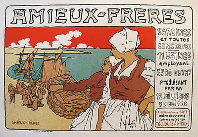 Original Maitres De L'affiche - Amieux-freres Pl.183 Original by Georges Fay