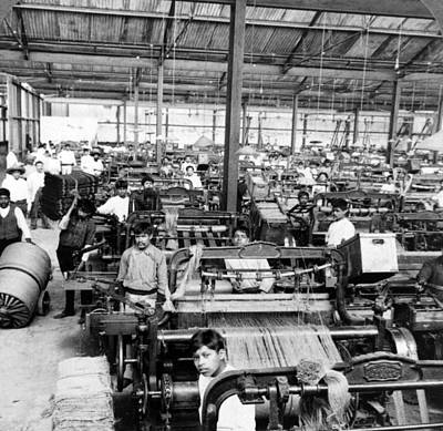 Building Factory Work Vintage Photograph - Orizaba Mexico - Carpet Factory - C 1903 by International  Images