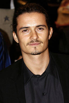 Orlando Bloom At Arrivals Print by Everett