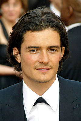 Orlando Bloom At Arrivals For 77th Print by Everett