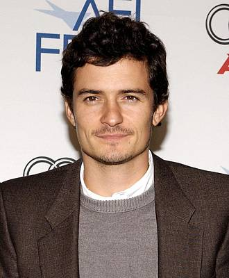 Orlando Bloom At Arrivals For Afi Fest Print by Everett