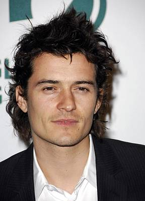 Orlando Bloom At Arrivals For Global Print by Everett