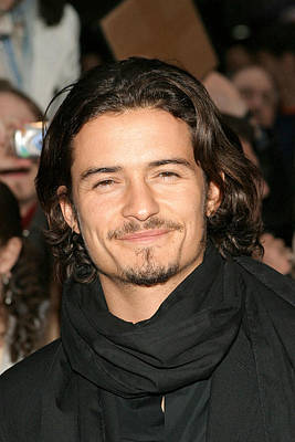 Orlando Bloom At Arrivals For Kingdom Print by Everett