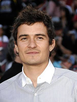Orlando Bloom At Arrivals For Premiere Print by Everett