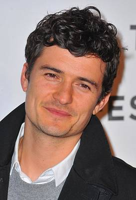 Orlando Bloom At Arrivals For The Good Print by Everett