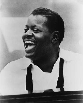 Jazz Pianist Photograph - Oscar Peterson 1925-2007 At Piano by Everett