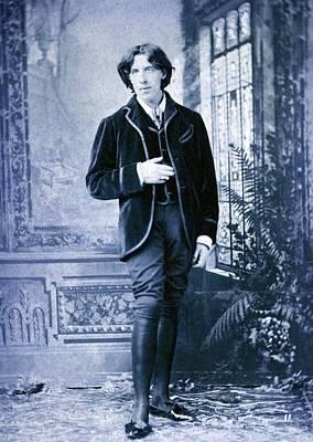 Oscar Wilde, 1854-1900 Irish Literary Print by Everett