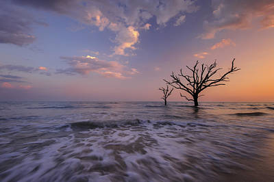 Edisto Photograph - Out To Sea by Joseph Rossbach