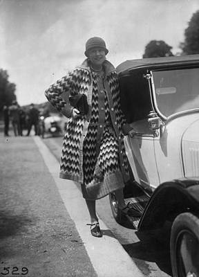 Cloche Hat Photograph - Outfit By Paquin by Seeberger Freres