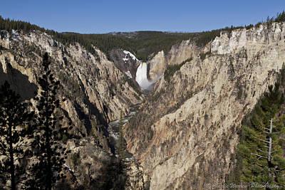 Overlook Falls Print by Charles Warren