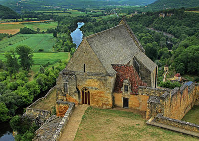 Overlooking The French Countryside Print by Dave Mills