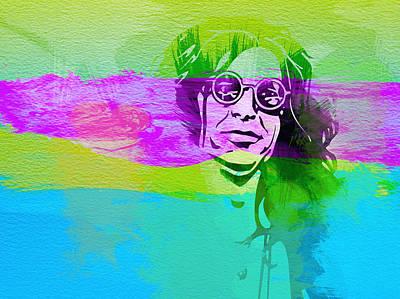 Ozzy Osbourne Print by Naxart Studio