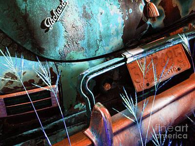 Packard On Ice Print by Joe Jake Pratt