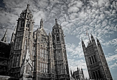 Tower Of London Photograph - Palace Of Westminster by Heather Applegate