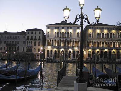 Palace. Venice Print by Bernard Jaubert
