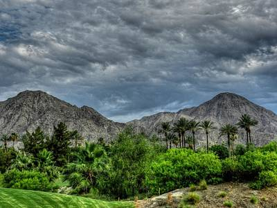 Palm Springs Hdr 013 Print by Lance Vaughn