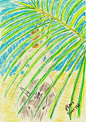 Palm Sunday Painting - Palm Sunday by Ani Todd Smith