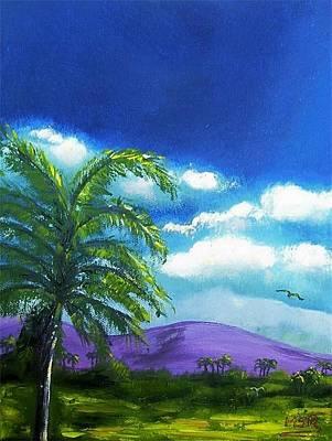 Painting - Palma Real by Maria Soto Robbins