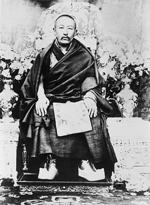 Panchen Lama Chos-kyi Nyi-ma 1883-1937 Print by Everett
