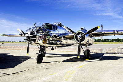 B25 Photograph - Panchito by Greg Fortier