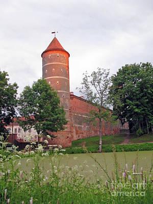 Panemunes Castle. Lithuania. Print by Ausra Huntington nee Paulauskaite