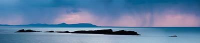 Portrush Photograph - Panoramic View Of Skerries Islands by Semmick Photo