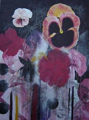 Painting - Pansies. by Cima Azimi