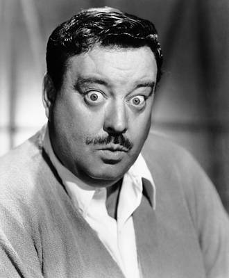 Jackie Gleason Photograph - Papas Delicate Condition, Jackie by Everett