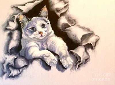 Paper Tiger Original by Susan A Becker