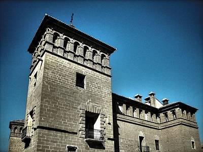 Teruel Photograph - Parador De Alcaniz - Spain by Juergen Weiss