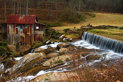 In Focus Photograph - Pardue Mill by Rick Mann