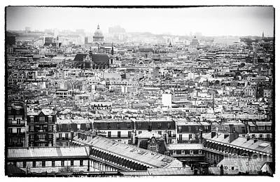Paris Photograph - Paris City View IIi by John Rizzuto