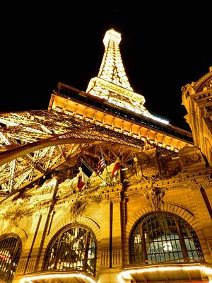 Paris Photograph - Paris Las Vegas 2012 002 by Lance Vaughn