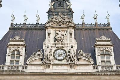 Liberte Photograph - Parisian City Hall II by Fabrizio Ruggeri