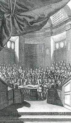 Parisian Surgical Amphitheater Print by Science Source