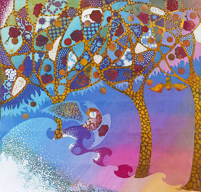 Park Guell. General Impression. Print by Kate Krivoshey