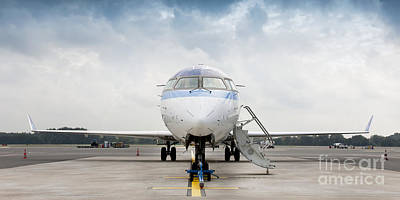 Airline Industry Photograph - Parked Jet Airplane by Jaak Nilson