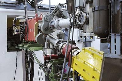Particle Accelerator Equipment Print by Ria Novosti