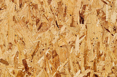 Abstruse Photograph - Particle Board Background by Brandon Bourdages