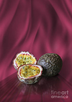 Passion Fruit Print by Johnny Hildingsson