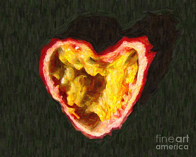 Passion Fruit Digital Art - Passion Fruit by Wingsdomain Art and Photography