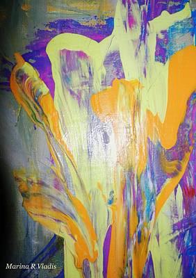 Passion Of The Mind Print by Marina R Vladis
