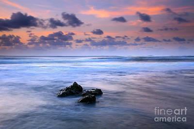Pastel Tides Print by Mike  Dawson