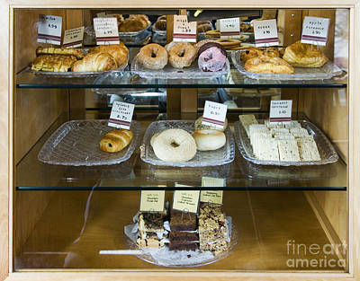 Pastry Items For Sale Print by Andersen Ross