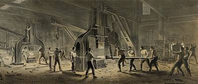 Paterson Iron Company Print by Everett
