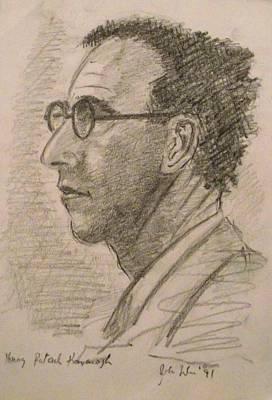 Patrick Kavanagh Print by John  Nolan