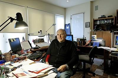 Paul Ekman, American Psychologist Print by Volker Steger