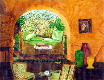 Peaceful Afternoon Print by Cheryl Carrabba