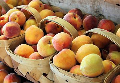 Peaches Print by Kristin Elmquist