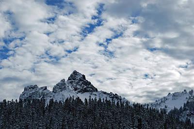 Peaks Near Mout Rainier Print by Twenty Two North Photography